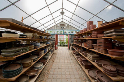 Pots at Bonsai West