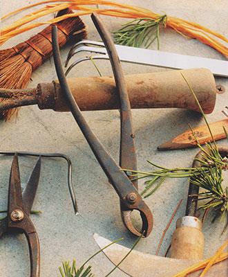 Tools at Bonsai West